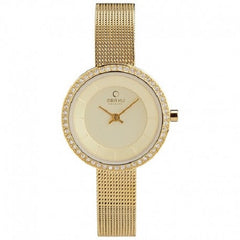 Obaku Denmark Women's Quartz 30m Goldtone Watch