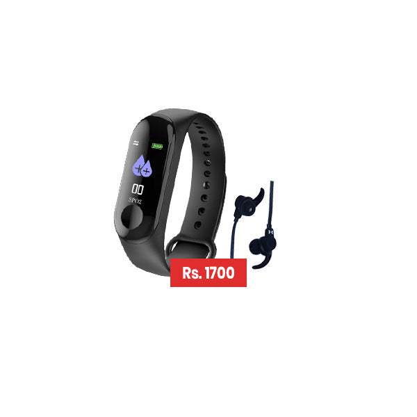 Bundle Deal- Smart Health Band M3 + JBL Bluetooth Headset