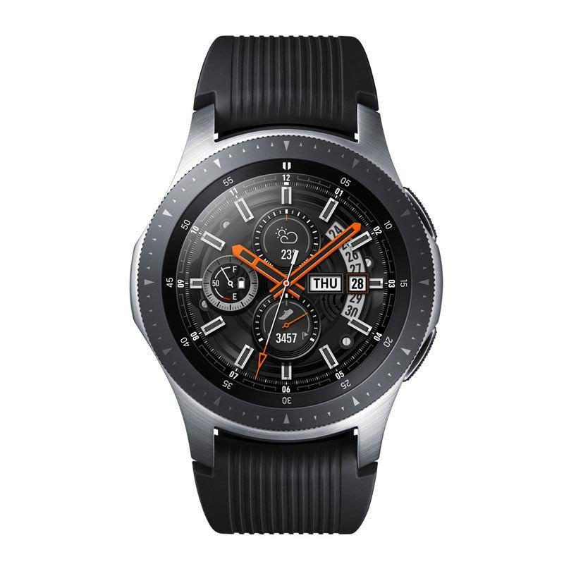 Samsung Galaxy Watch Sm-R800/ Gear S4 46 mm Smart Watch Black-Silver