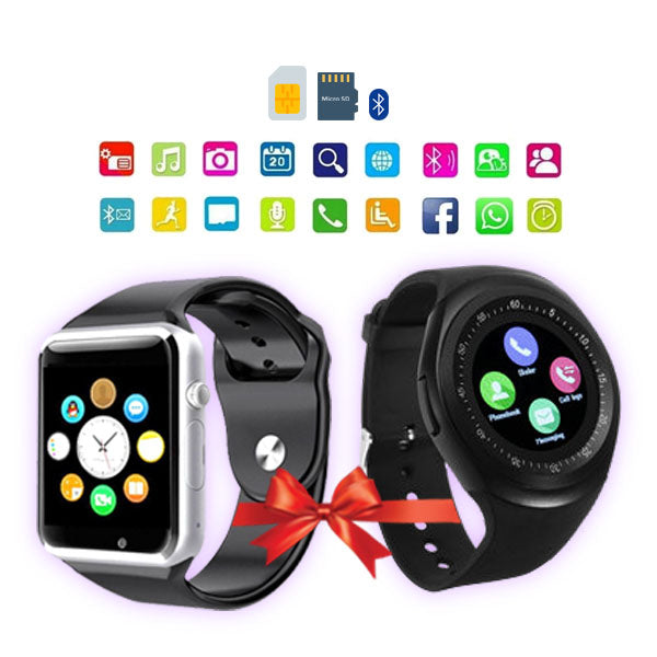 BUNDLE DEAL-2 Smartwatches (Y1 & W08)