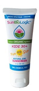 Organic Sunscreen - Kids Lotion, SPF 30+ (2oz)