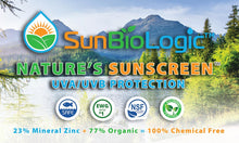 Organic Sunscreen - Naturally Tinted, Light/Medium Tone SPF 30+ (2oz)