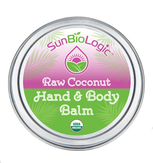 Organic Balm - Raw Coconut (1oz)