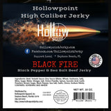 black pepper and sea salt beef jerky ingredients hollowpoint jerky