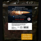 ghost pepper beef brisket jerky hollowpoint jerky 2.5 oz