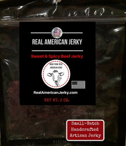Sweet & Spicy Beef Jerky 3 oz