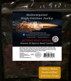 Saturday Night Special Sweet and Spicy Hollowpoint Beef Jerky 3 oz