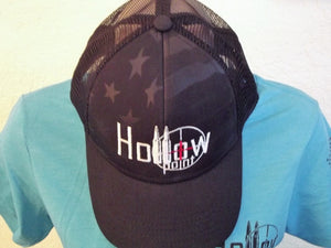 Outdoor Cap Debossed Stars and Stripes Hollowpoint Patriotic Hat - Available in 3 Colors