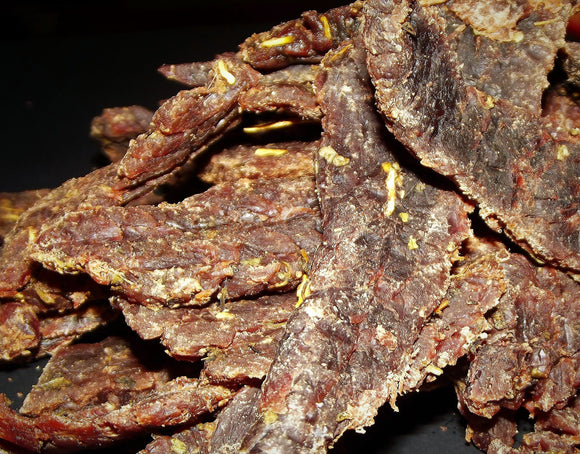 Red Stiletto Beef Jerky 3 oz