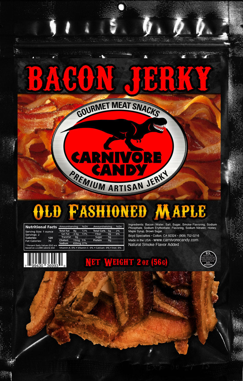OLD FASHIONED MAPLE - BACON JERKY