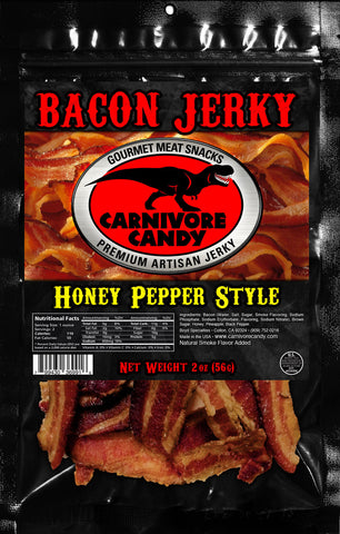 HONEY PEPPER - BACON JERKY