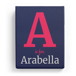 A is for Arabella - Classic