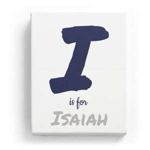 I is for Isaiah - Artistic