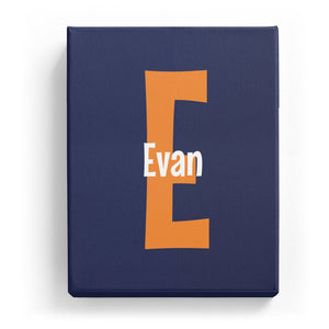 Evan Overlaid on E - Cartoony