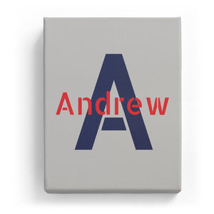 Andrew Overlaid on A - Stylistic