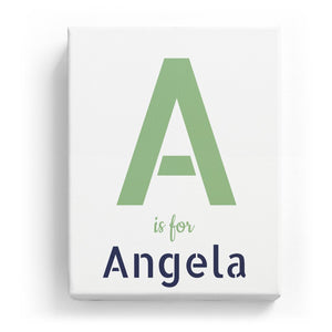 A is for Angela - Stylistic