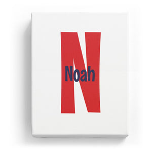 Noah Overlaid on N - Cartoony