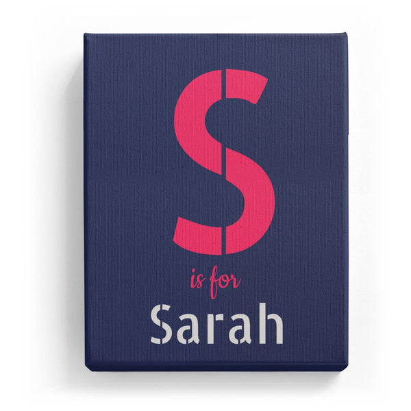 S is for Sarah - Stylistic