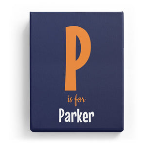 P is for Parker - Cartoony