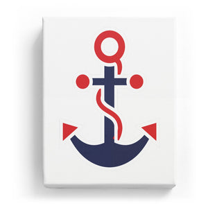 Anchor with Rope - No Background (Mirror Image)