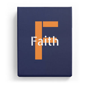 Faith Overlaid on F - Stylistic