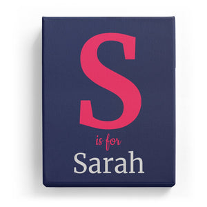 S is for Sarah - Classic