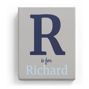 R is for Richard - Classic