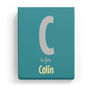 C is for Colin - Cartoony