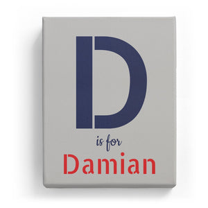 D is for Damian - Stylistic