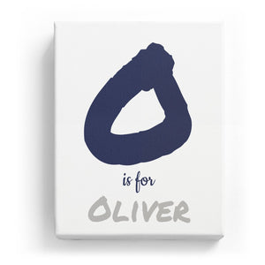 O is for Oliver - Artistic