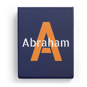 Abraham Overlaid on A - Stylistic