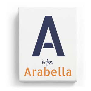 A is for Arabella - Stylistic