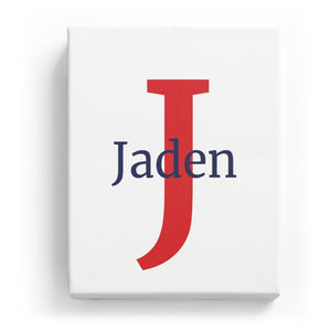 Jaden Overlaid on J - Classic