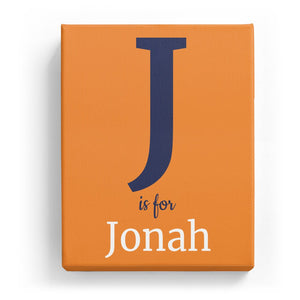 J is for Jonah - Classic
