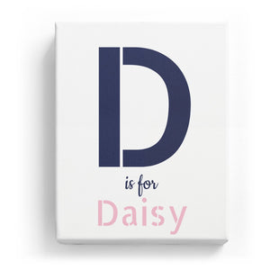 D is for Daisy - Stylistic