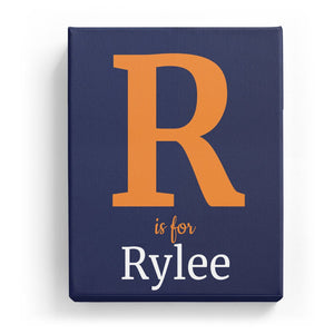R is for Rylee - Classic