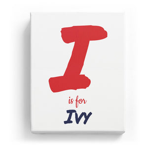 I is for Ivy - Artistic