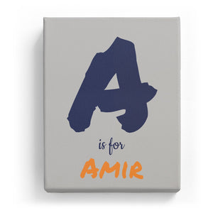 A is for Amir - Artistic