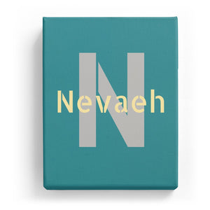 Nevaeh Overlaid on N - Stylistic