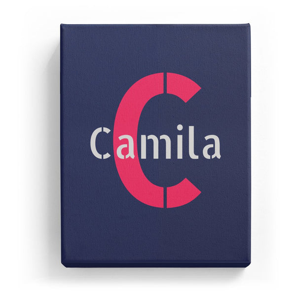 Camila Overlaid on C - Stylistic