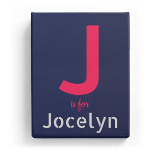 J is for Jocelyn - Stylistic
