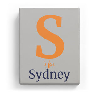 S is for Sydney - Classic