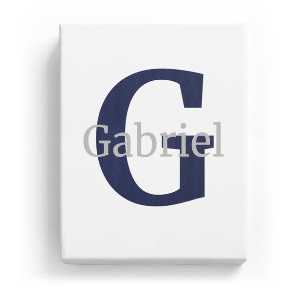 Gabriel Overlaid on G - Classic