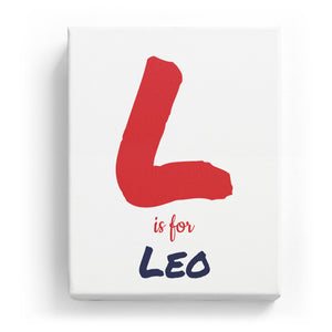 L is for Leo - Artistic