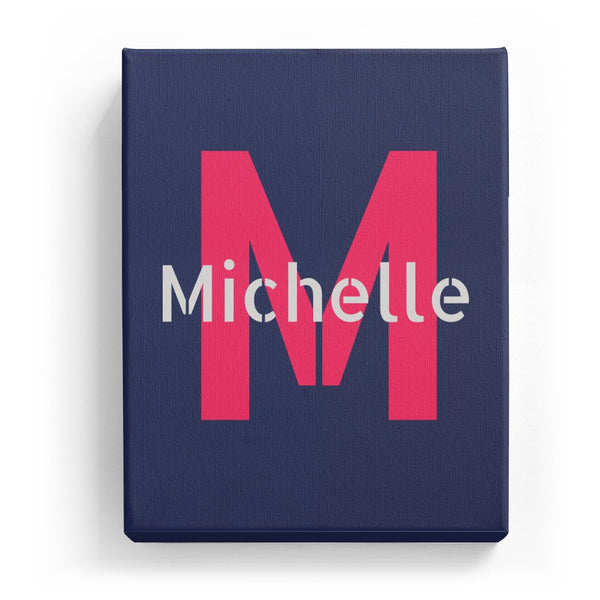 Michelle Overlaid on M - Stylistic