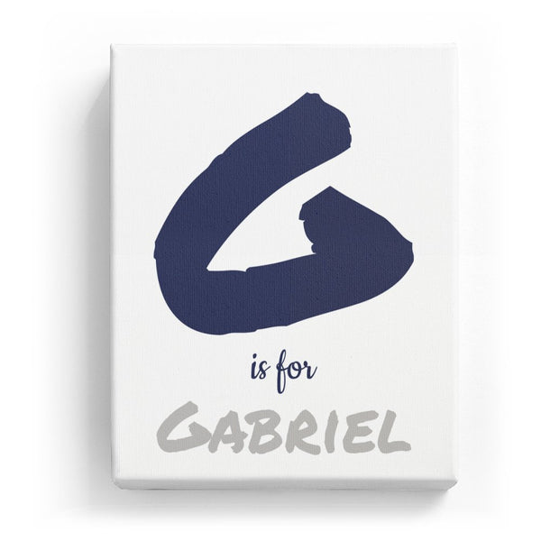G is for Gabriel - Artistic