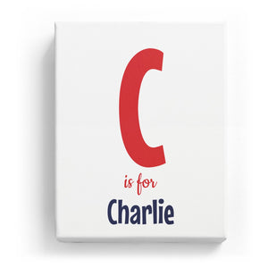 C is for Charlie - Cartoony