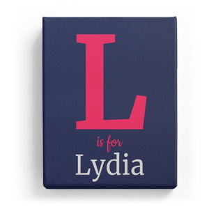 L is for Lydia - Classic