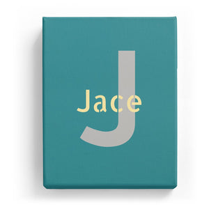Jace Overlaid on J - Stylistic