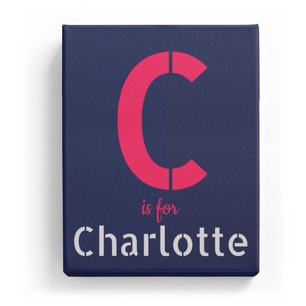 C is for Charlotte - Stylistic